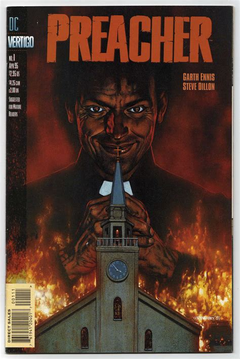 the preacher s letter books preacher 1 comic book speculation and investing