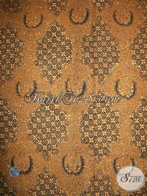 Rok Panjang Anak Rsb Kj 1214 jual batik motif klasik lawasan asli motif buntal melati kain panjang warna coklat soga