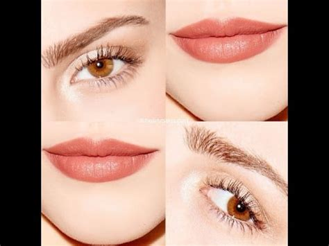 natural makeup tutorial with red lips natural lips makeup tutorial lipstick tutorial