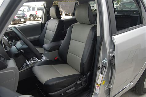 Toyota 4runner Seat Covers Toyota 4runner 2010 2014 Leather Like Custom Seat Cover Ebay