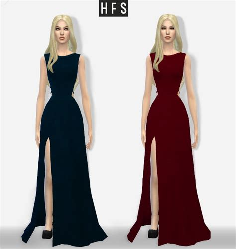 Longdress Cc haut fashion sims 187 sims 4 updates 187 best ts4 cc downloads