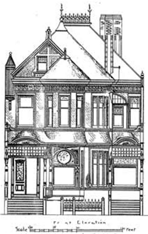 san francisco house plans 40 san francisco painted ladies original house plans picturesque california homes