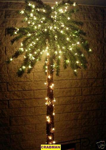 palm tree for patio 7 ft 300 lighted palm tree for patio deck 7 foot tree