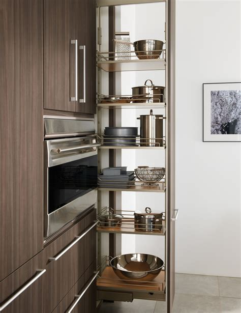 Pull Out Pantry by Pull Out Pantry Wood Mode Custom Cabinetry