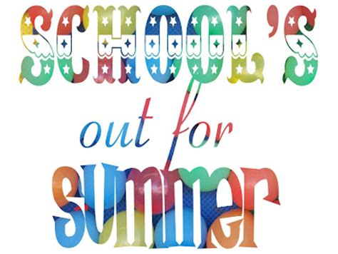 schools out clipart bnute productions school s out for summer