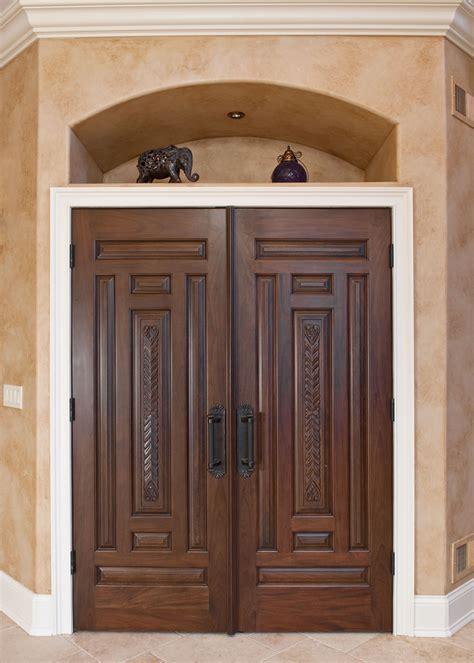 custom wood exterior doors marceladick interior door custom solid wood with walnut
