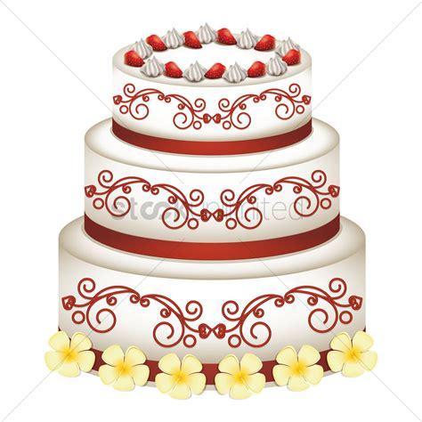 Wedding Cake Vector by Wedding Cake Vector Image 1705815 Stockunlimited