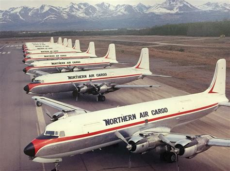dc 6 swing 54 best images about nac northern air cargo on