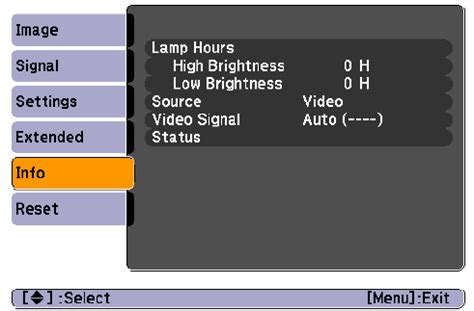 epson projector l light orange epson projector blinking l light