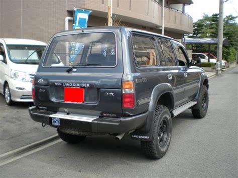 1991 toyota land cruiser information and photos momentcar 1991 toyota land cruiser information and photos momentcar