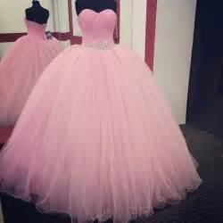 Fashion pink sweet 16 dress tulle ball gown beaded waist 2016 trendy