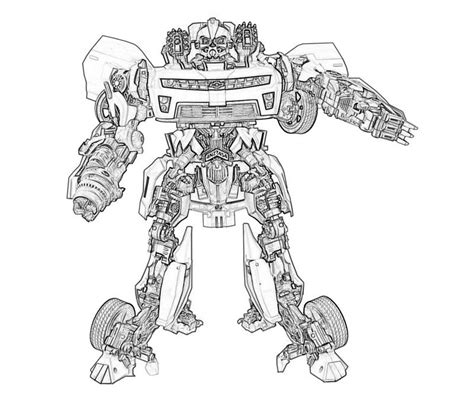 Transformers 4 Crosshairs Coloring Pages Coloring Pages Transformers 4 Coloring Pages