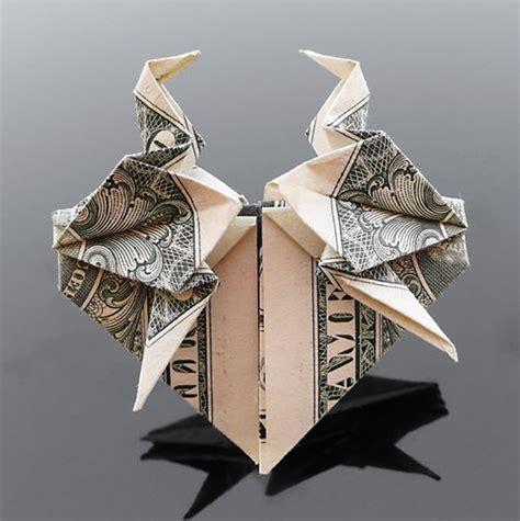 Origami Crane Dollar Bill - 35 beautiful dollar origami by craig sonnenfeld