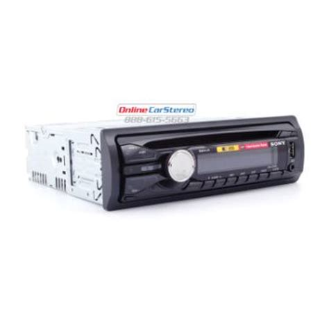 Sony Single Cd Cdx G1050 U sony cdx gt40u single din in dash cd stereo mp3 wma aac