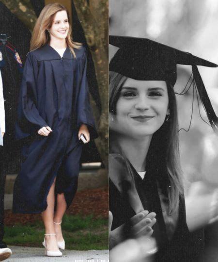 emma watson graduation dress emma watson graduation ceremony at brown university in