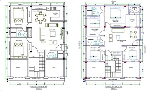 home design dwg download house plan in autocad drawing bibliocad with cad drawing