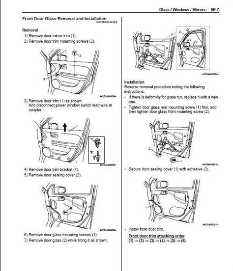 how to remove install front door panel suzuki xl 7 youtube swift how do you remove the door panel team bhp