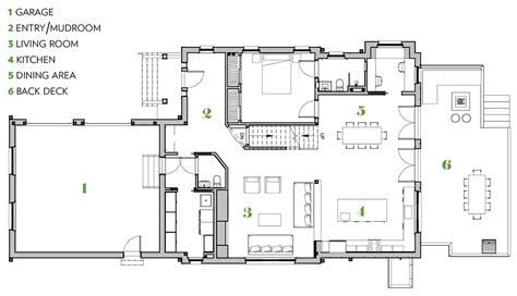 eastpoint green floor plan green undercover this eco friendly house in wellesley fits right in boston magazine