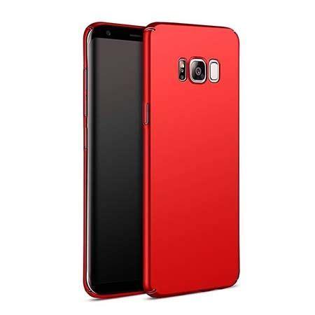 Slim Matte With Logo Samsung Galaxy S8 S8 Plus Softcase Mate etui na telefon samsung galaxy s8 plus slim matte czerwony 35303 etuistudio