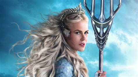 nicole kidman  queen atlanna  aquaman wallpapers hd