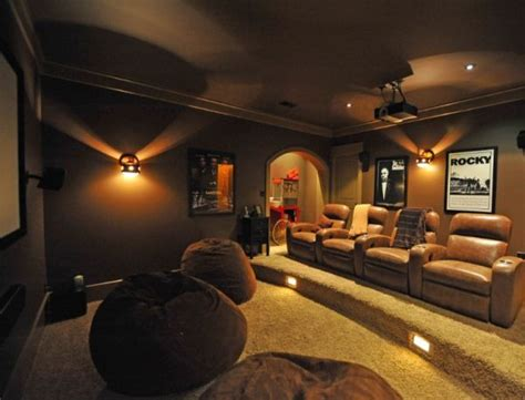 home theatre room decorating ideas onyoustore com 35 modern media room designs that will blow you away