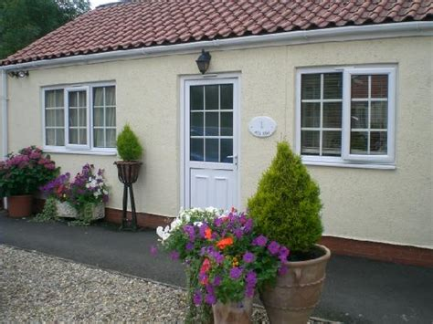 Painted Cottage by Pretty Secluded Courtyard At Langhill Picture Of