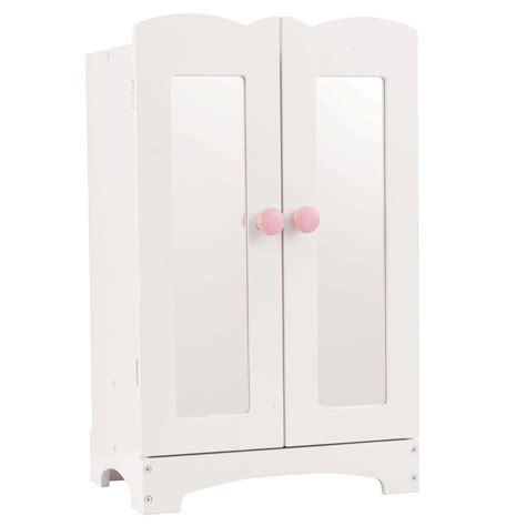 kidkraft doll armoire kidkraft lil doll armoire 60132 the home depot