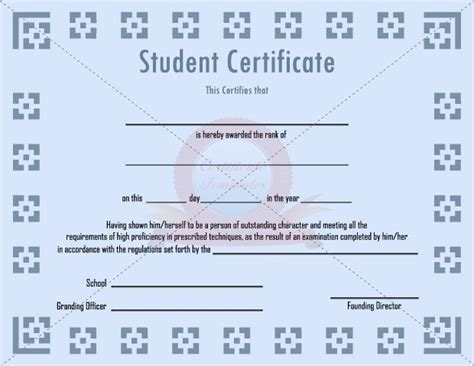 best student certificate template 502 best images about certificate template on