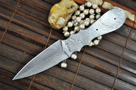 knife blade blanks uk blank blade damascus steel handmade bl6 perkin