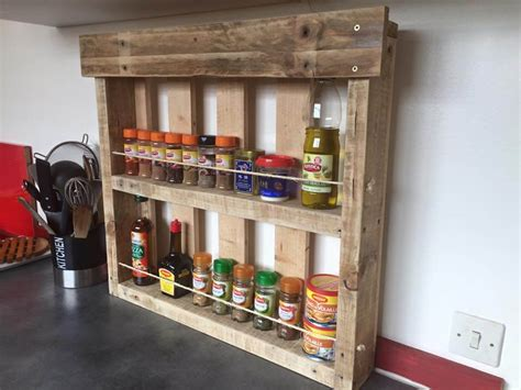 diy kitchen shelves multipurpose pallet shelves design