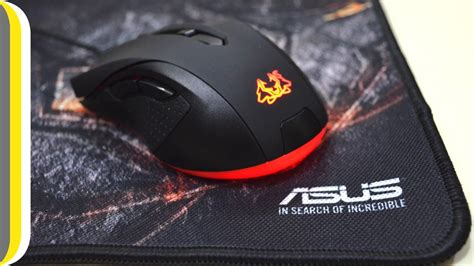 Asus Mouse Cerberus asus cerberus gaming mouse and mouse pad review by ur