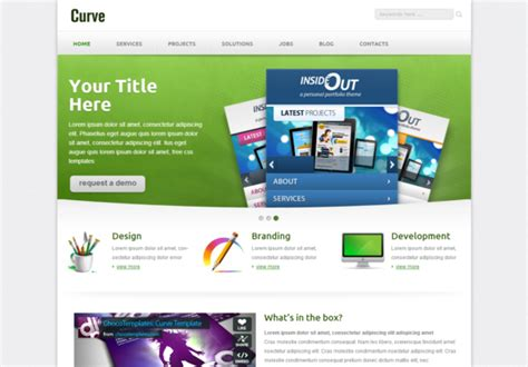 templates for website in html5 and css3 curve responsive html5 template html5xcss3