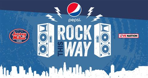 Live Nation App Sweepstakes - pepsi rock this way sweepstakes