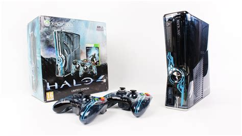 halo 4 360 console xbox 360 halo 4 limited edition console unboxing halo 4