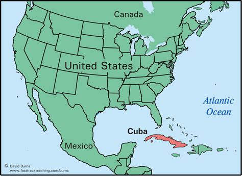 map of usa showing states and canada cuba map from canada