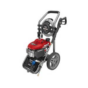 Honda 2700 Psi Pressure Washer Black Max 2700 Psi Gasoline Pressure Washer Powered By