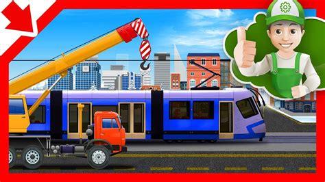 film kartun mobil kereta api anak mobil kartun bahasa indonesia film