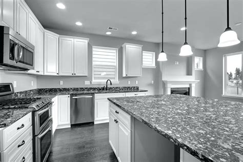 grey granite countertops kitchen large size kitchen