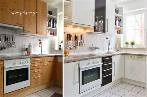 küche lackieren vorher nachher k 252 che k 252 che wei 223 folieren k 252 che wei 223 or k 252 che wei 223