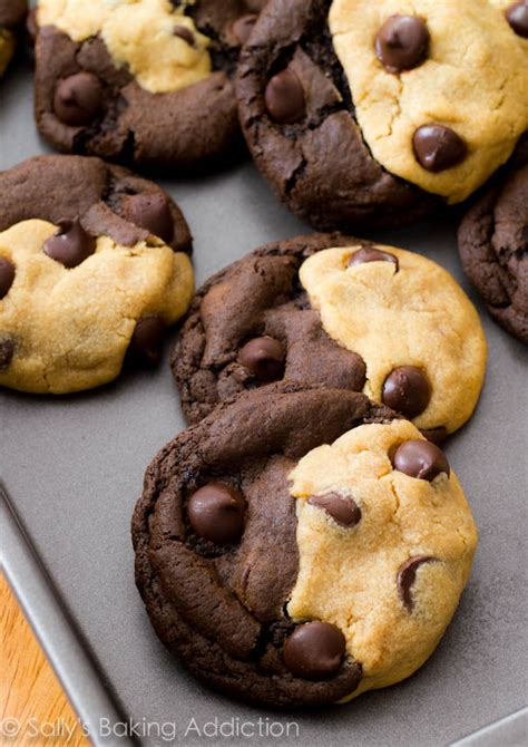 Choco Cookies Real Choco soft baked peanut butter chocolate swirl cookies by sallysbakingaddiction me me me just
