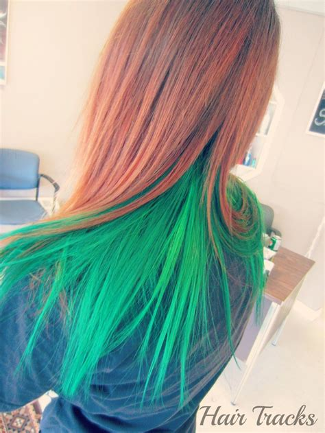 elumen hair color hair green elumen hair colour by imhermonster on deviantart