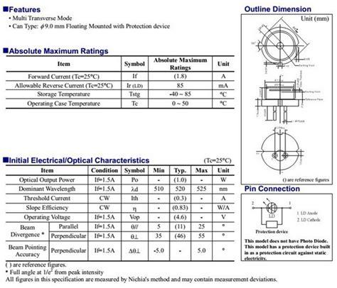 high voltage rectifier diode datasheet laser diode module datasheet 28 images gmad1s0607 perkinelmer hybrid pulsed laser module