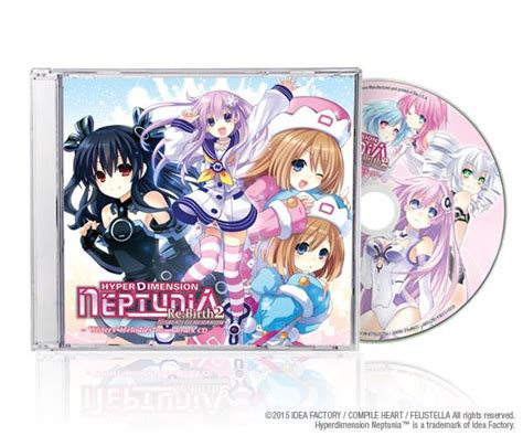 Psvita Hyperdimension Neptunia Rebirth2 Generation R1 limited edition for hyperdimension neptunia re birth 2 generation is revealed niche gamer