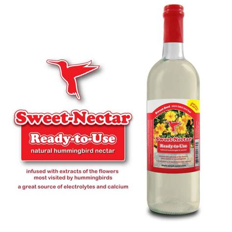 sweet nectar hummingbird food ready to use set of two