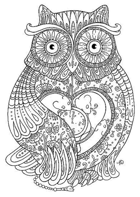 owl mandala coloring pages for adults owl mandala coloring page owl coloring pages for adults