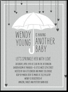 Baby Shower For A Second Baby by 2nd Baby Showers On Baby Sprinkle Invitations