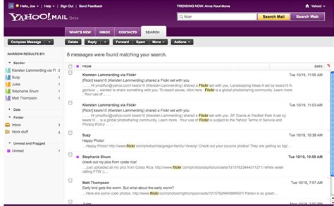 How To Search By Email On La Ceo De Yahoo Se Disculpa P 250 Blicamente Por Fallas En