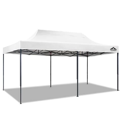 gazebo white instahut 3x6m pop up gazebo white