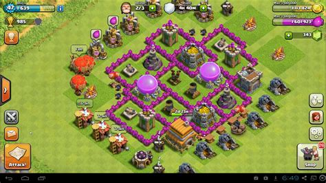 layout level 6 town hall level 6 town hall farming layout www imgkid com the