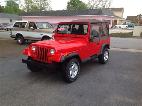 1990 Jeep Wrangler For Sale Used 1990 Jeep Wrangler For Sale Carsforsale